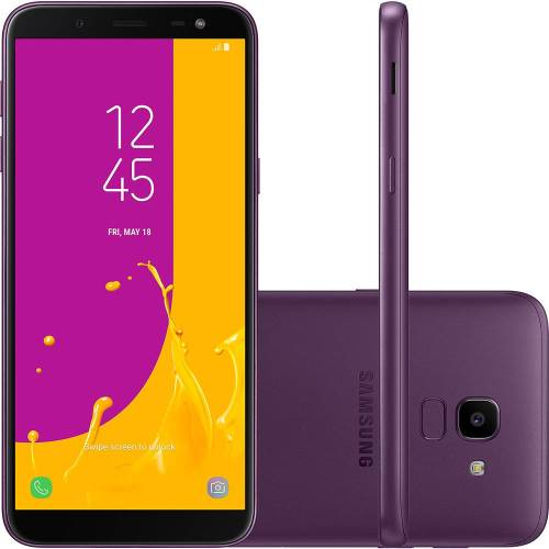Foto - Celular Samsung Galaxy J-6 Tv Dual