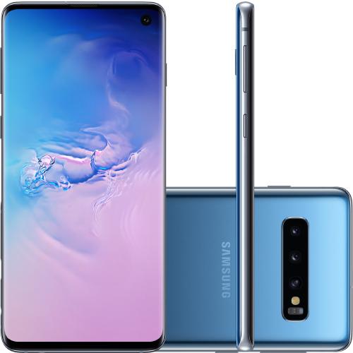 Foto - Celular Samsung Galaxy G-973 S-10 Tela 6.1