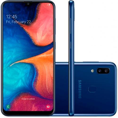 Foto - Celular Samsung Galaxy A-20 32gb Dual