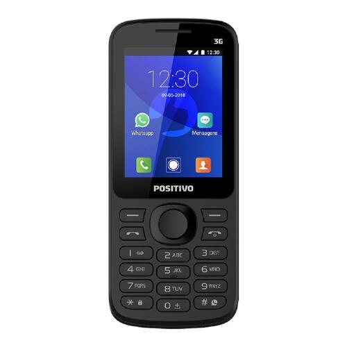 Foto - Celular Positivo Feature Phone C/ Whatsapp P-70 Du