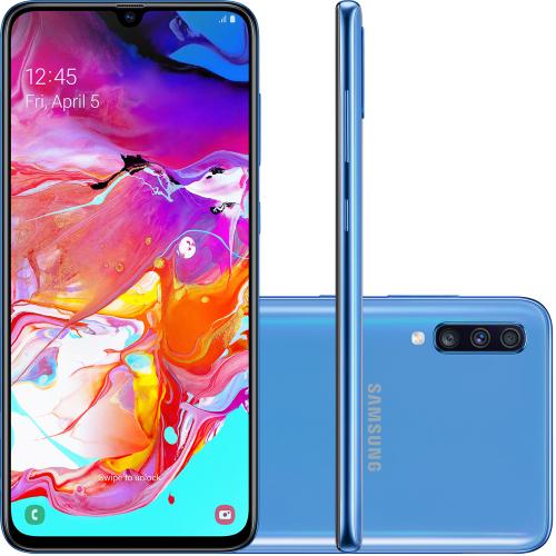 Foto - Celular Samsung Galaxy A-70 128GB Dual