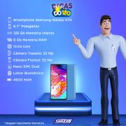 Miniatura - Celular Samsung Galaxy A-70 128GB Dual
