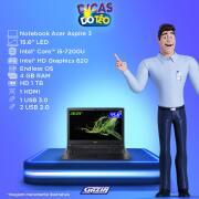 Miniatura - NOTEBOOK ACER 15.6P i5-7200U 4GB 1TB ENDLESS