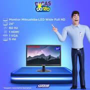 Miniatura - MONITOR MITSUSHIBA 24P WIDE SOM INT HDMI/VGA