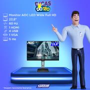 Miniatura - MONITOR AOC LED 23,8P 24P1U HDMI/VGA  C/AJ ALT