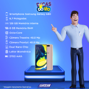 Miniatura - Celular Samsung Galaxy A-80 128GB Dual
