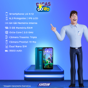Miniatura - Celular Lg K-12 Prime 64GB Dual