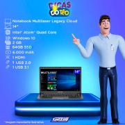 Miniatura - NOTEBOOK MULTILASER LEGACY 14P Z8350 2GB 64GB W10