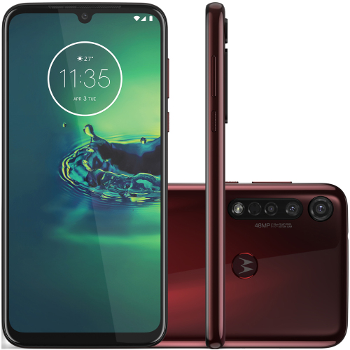 Foto - Celular Motorola Moto G-8 Plus 64GB XT2019 Dual