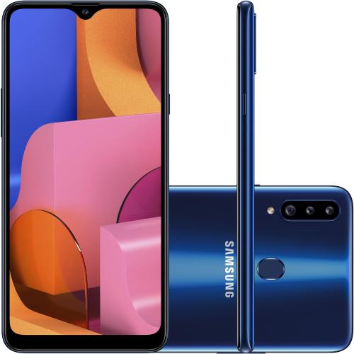 Foto - Celular Samsung Galaxy A-20-S 32GB Dual