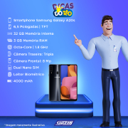 Miniatura - Celular Samsung Galaxy A-20-S 32GB Dual
