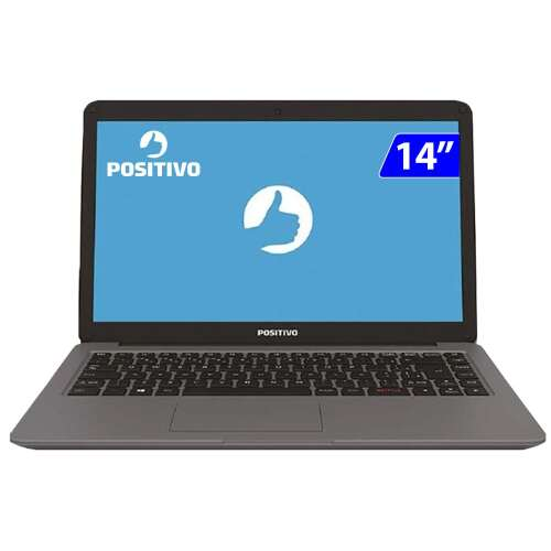 Foto - NOTEBOOK POSITIVO MOTION 14P i3-7020U 4GB 1TB W10
