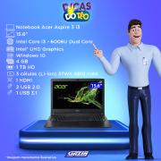 Miniatura - NOTEBOOK ACER 15.6P i3-6006U 4GB 1TB W10