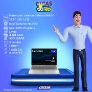 Miniatura - NOTEBOOK LENOVO S145 15.6 INTEL N4000 4GB 500GB LX