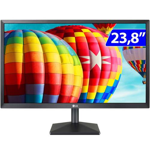 Foto - MONITOR LG LED 23,8P 24Mk430H IPS HDMI FULL HD