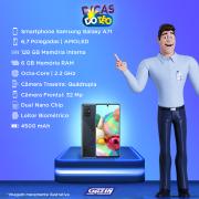 Miniatura - Celular Samsung Galaxy A-71 128GB Dual