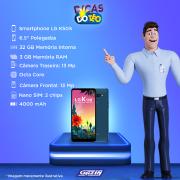 Miniatura - Celular LG K-50-S 32GB Dual