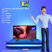 Miniatura - MONITOR MULTILASER TL013 24POL VGA HDMI HD