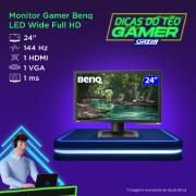 Miniatura - MONITOR BENQ GAMER ZOWIE XL2411P 24P 144HZ