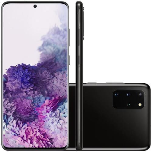 Foto - Celular Samsung Galaxy S-20+ G-985 Dual