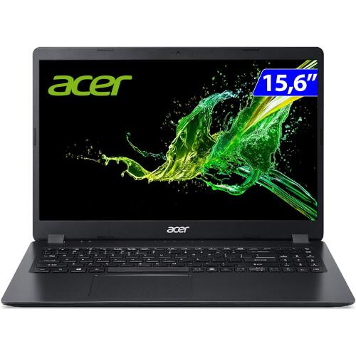 Foto - NOTEBOOK ACER 15.6P RYZEN5-3500U 12GB HD1TB W10