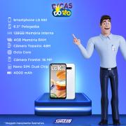 Miniatura - Celular Lg K-61 Dual 128GB Dual