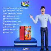 Miniatura - Celular Samsung Galaxy A-11 64GB Dual