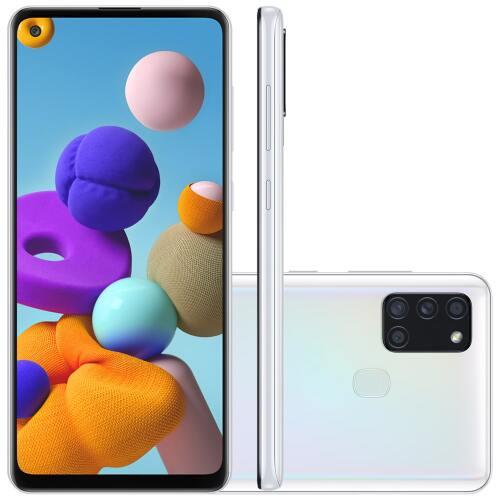 Foto - Celular Samsung Galaxy A-21-S 64GB Dual