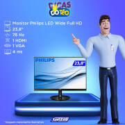 Miniatura - MONITOR PHILIPS LED 242V8 23.8P HDMI WIDE IPS