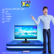 Miniatura - MONITOR PHILIPS LED 272V8A 27P HDMI WIDE IPS