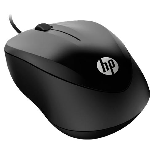 Foto - MOUSE HP USB 1000 1200DPI PRETO