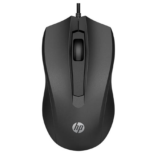 Foto - MOUSE HP 100 1600DPI USB PRETO