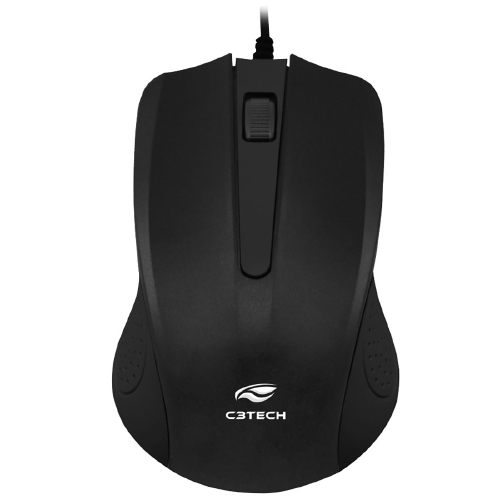 Foto - MOUSE C3TECH MS-20BK USB PRETO