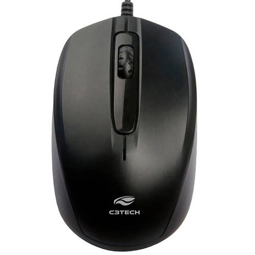 Foto - MOUSE C3TECH MS-30BK USB PRETO