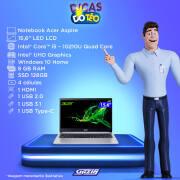 Miniatura - NOTEBOOK ACER 15.6 i5-10210 8GB HD1TB+SSD128GB W10