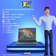 Miniatura - NOTEBOOK SAMSUNG CHROMEBOOK 11.6 N3060 4GB 32GB