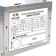 Miniatura - FONTE ATX 200W C3PLUS PS-200V4 S/CABO