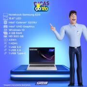 Miniatura - NOTEBOOK SAMSUNG E20 15.6P CELERON 4GB HD500GB W10