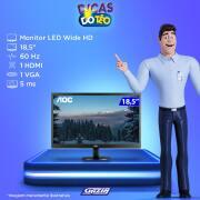 Miniatura - MONITOR AOC LED E970SWHNL 18.5 HDMI VGA