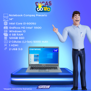 Miniatura - NOTEBOOK COMPAQ 14P CORE-I3 4GB SSD120GB W10