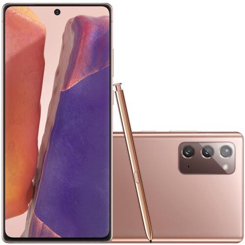 Foto - Celular Samsung Galaxy Note 20 N-981 Dual