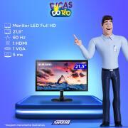 Miniatura - MONITOR SAMSUNG LED 21.5P LS22F350 HDMI D-SUB VESA
