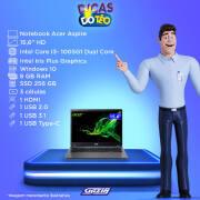 Miniatura - NOTEBOOK ACER 15.6P CI3-1005G1 4GB SSD256GB W10