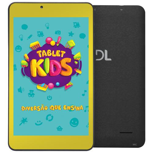 Foto - TABLET DL KIDS C10 8GB 1GBRAM WI-FI CAMERA FRONTAL