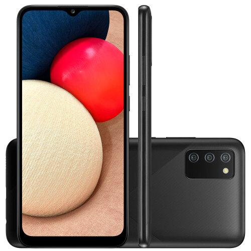 Foto - Celular Samsung Galaxy A-02-S 32GB Dual
