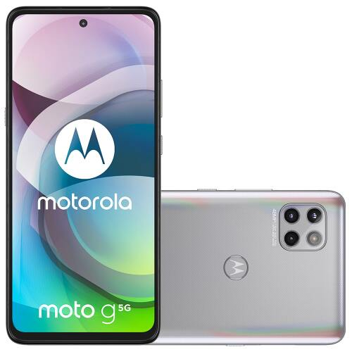 Foto - Celular Motorola Moto G-5G 128GB Dual