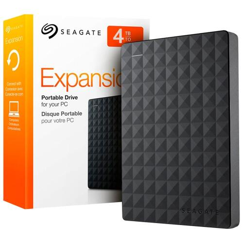 Foto - HDD EXTERNO PORTATIL SEAGATE EXPANSION 4TB USB 3.0