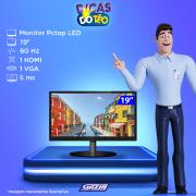Miniatura - MONITOR PCTOP LED 19P HDMI VGA VESA