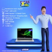 Miniatura - NOTEBOOK ACER 15.6P I51035G1 8GB+2GBVID SSD256 W10