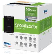 Miniatura - ESTABILIZADOR SMS 500VA 115V REV SPEEDY
